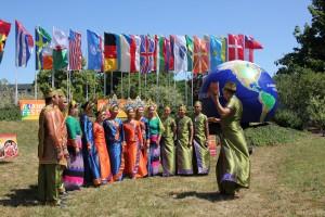 Internationale Gäste auf dem Harmonie Festival