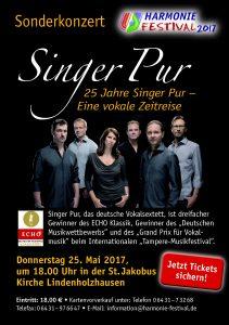 Singer Pur Harmonie Festival 2017